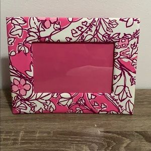 Lily Pulitzer Alpha phi Photo Frame